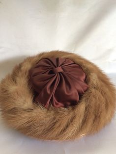 Gorgeous Fur Trimmed Hat by ContemporaryVintage on Etsy