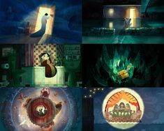 An Analysis of the film,  SONG OF THE SEA.   Notice the motif of warm surrounded by cool.