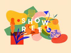 Showreel Intro designed by Wevoke. Connect with them on Dribbble;