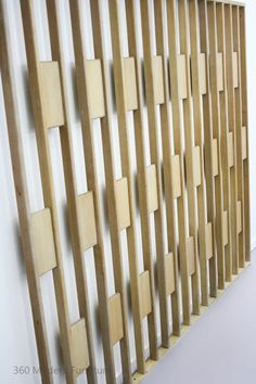 Mid Century Modern Screen Room Divider Partition Retro Vintage Wall Geometric in Home & Garden, Furniture, Other | eBay 360 Modern Furniture