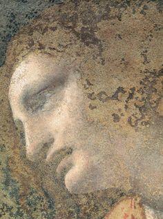 Detail of Leonardo da Vinci's The Last Supper (1495-1498)