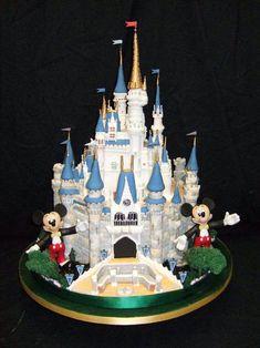 Disney Cinderella Castle Cake