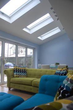 Image result for garage conversion l shaped kitchen family room