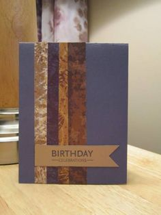 Super Easy Guy Card by mfb - Cards and Paper Crafts at Splitcoaststampers