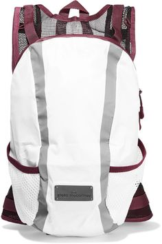 White, plum and black shell and mesh Two-way zip fastening along top Weighs approximately 0.9lbs/ 0.4kg