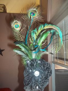 The headpiece for the costume I did for a friend for Halloween by Geneva Lobato-Mitchell