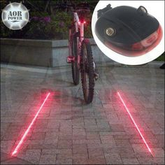 AOR POWER Bicycle Water Resistant 5 LED/Laser Taillight - Red LED/Red Laser AOR POWER http://www.amazon.com/dp/B00NJNB6VM/ref=cm_sw_r_pi_dp_DYVCwb1PNJNE5