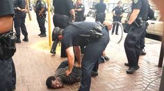 Man with one leg taken down by 14 #SFPD officers - Good grief