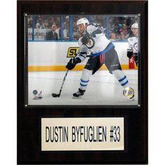 C Collectables NHL 12x15 Dustin Byfuglien Winnipeg Jets Player Plaque, Multicolor