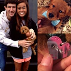 This Is How Teens Are Asking Each Other To Prom Nowadays. Can I just keep the puppy?<br> Teens are really into promposals. Also Chick-fil-A. Cute Prom Proposals, Homecoming Proposal, Formal Proposals, Wedding Proposals, Marriage Proposals, Wedding Poses, Wedding Ideas, Prom Pictures Couples, Prom Couples