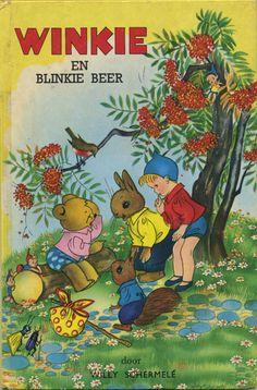 Winkie en Blinkie beer - book cover