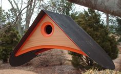 Spring Ahead with this Bird Lovers Birdhouse. via Etsy.