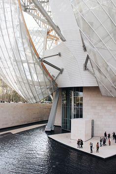 dearlauraco:Fondation Louis-Vuitton pour la création, Paris / 06.03.2015