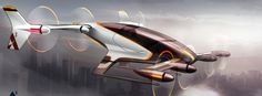 flying cab by Airbus