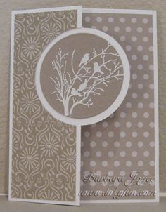 Serene Birds in a Circle by bejoyce - Cards and Paper Crafts at Splitcoaststampers