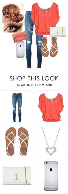 """""""Dress to Impress"""" by amilne-10 ❤ liked on Polyvore featuring Frame Denim, Pinko, Billabong and Yves Saint Laurent"""