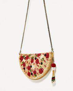 Image 3 of PIZZA CROSSBODY BAG from Zara
