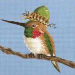 Melissa Shirley Designs | Hand Painted Needlepoint | Hummer