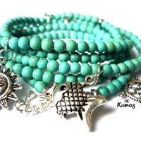 Health 2020, Turquoise Bracelet, Bracelets, Mandala, Mom, Jewelry, Fashion, Carnelian, Moda