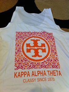 Tory Burch greek shirt! instead I would do gamma kappa delta