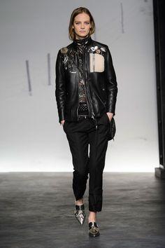 Coach at New York Fashion Week Fall 2015 // Stylebistro.com