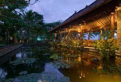 Pool bar at the Legian, Bali