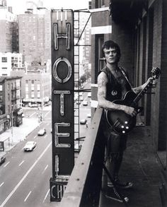 Keith Green - Dee Dee Ramone At the Chelsea Hotel
