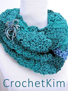 2da07c4024 Ravelry  Rockin  The Changes Infinity Scarf pattern by Kim Guzman Crochet  Scarves