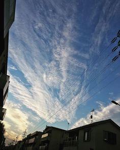#夕方 #空 #雲 Clouds, Nature, Outdoor, Instagram, Outdoors, Naturaleza, Outdoor Games, Nature Illustration, The Great Outdoors
