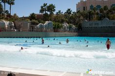 The Wave Pool at THEHotel at Mandalay Bay - Las Vegas