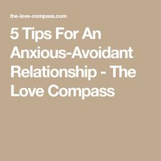 avoidant attachment disorder dating