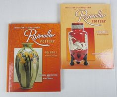 Roseville Pottery Collector's Encyclopedia Volume 1 and 2 - Huxford & Nickel