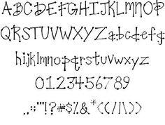 25+ best ideas about Handwriting fonts alphabet on Pinterest ...