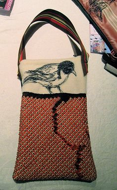 Miser's Purse, Curious Bird, 2008 by Tara Badcock, via Flickr