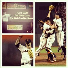 Matt Cain's Perfect Game - June 13, 2012 #PerfectCain #SFGiants