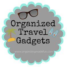 Organized Travel Tips