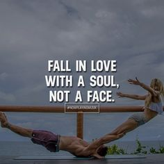 Fall in love with a soul, not a face. Like and comment if you feel this! ➡️ @adillaresh for more!