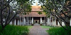 Small hotel in the centre of Chiang Mai's old city, designed by its architec-owner Ong-Ard Satrabhandu.