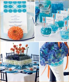 wedding favor ideas...love the colors