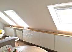 Ikea + bois ! - Une cocotte sous les toits Ikea, Attic Rooms, Loft Room, Home, Inside Interiors, Bedroom Loft, Ikea Wood, Home Decor, Loft Apartment
