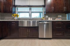 dark cabinets, kitchens, kitchen renovations