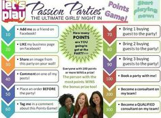 Fun passion party games