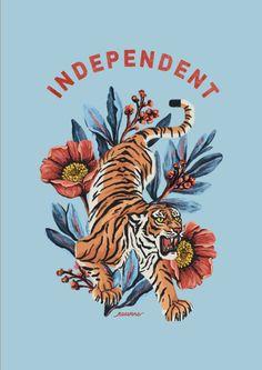 Tiger Independent Blue Notebook Materica is part of Tiger illustration - Tiger Illustration, Wallpaper Bonitos, Wallpaper Telephone, Frida Art, Purple Aesthetic, Aesthetic Wallpapers, Cute Wallpapers, Art Inspo, Iphone Wallpaper