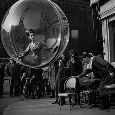 Bubbles series by Melvin Sokolsky, Paris, 1963
