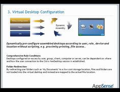 Citrix and AppSense: Desktop Virtualization (VDI) and User Personalization - DABCC TV #26, via YouTube. Information Technology, Desktop, Marketing, Youtube, Youtube Movies