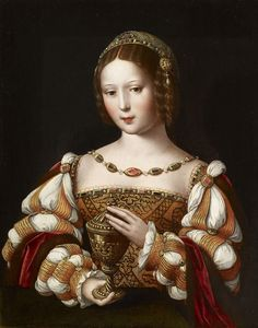 View Mary Magdalene holding the unguent jar by Master of the Female Half Lengths on artnet. Browse upcoming and past auction lots by Master of the Female Half Lengths. Portrait Renaissance, Italian Renaissance Dress, Renaissance Mode, Renaissance Costume, Renaissance Paintings, Renaissance Clothing, Renaissance Fashion, 16th Century Clothing, 16th Century Fashion