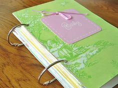 Transform you kid's b-day cards, Christmas cards, Easter cards, etc.. into a storybook!