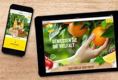 Libella Brand Website #responsive #parallax