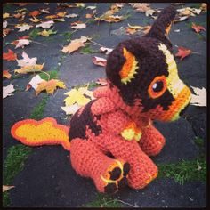 So happy to have received this commission for the Molten Corgi! He was so much fun to work on and has been added as a made-to-order plushie along with my other Warcraft cuties! He can be made with or without his lava trail :)