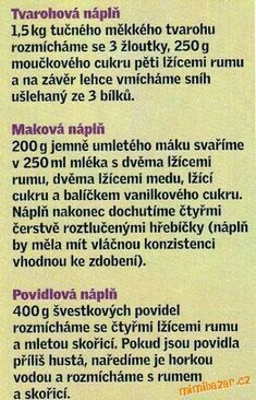 Slovak Recipes, Czech Recipes, Wok Recipes, Cooking Recipes, Cooking Tips, Slovakian Food, Secret Recipe, Dessert For Dinner, Keto Bread